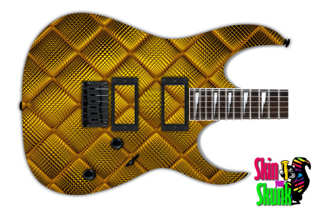Buy Guitar Skin Texture Golden