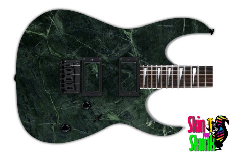 Buy Guitar Skin Texture Green Marble