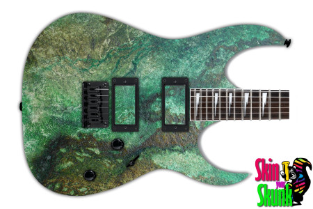 Buy Guitar Skin Texture Green