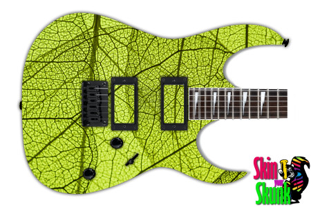 Buy Guitar Skin Texture Leaf
