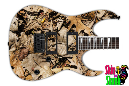 Buy Guitar Skin Texture Leaves