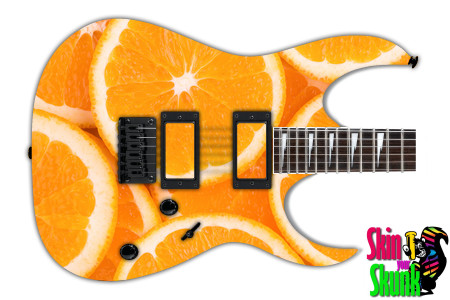 Buy Guitar Skin Texture Orange