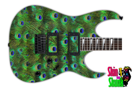 Buy Guitar Skin Texture Peacock