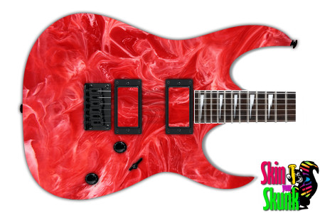 Buy Guitar Skin Texture Red Marble