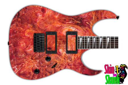 Buy Guitar Skin Texture Red