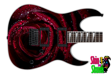 Buy Guitar Skin Texture Rose