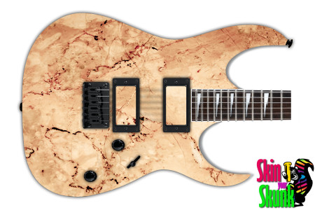 Buy Guitar Skin Texture Tan Marble